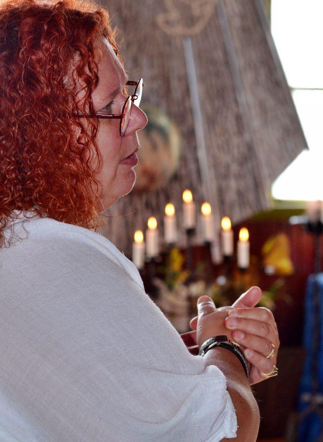 spiritualistiskt medium jane lyzell ger konsultation